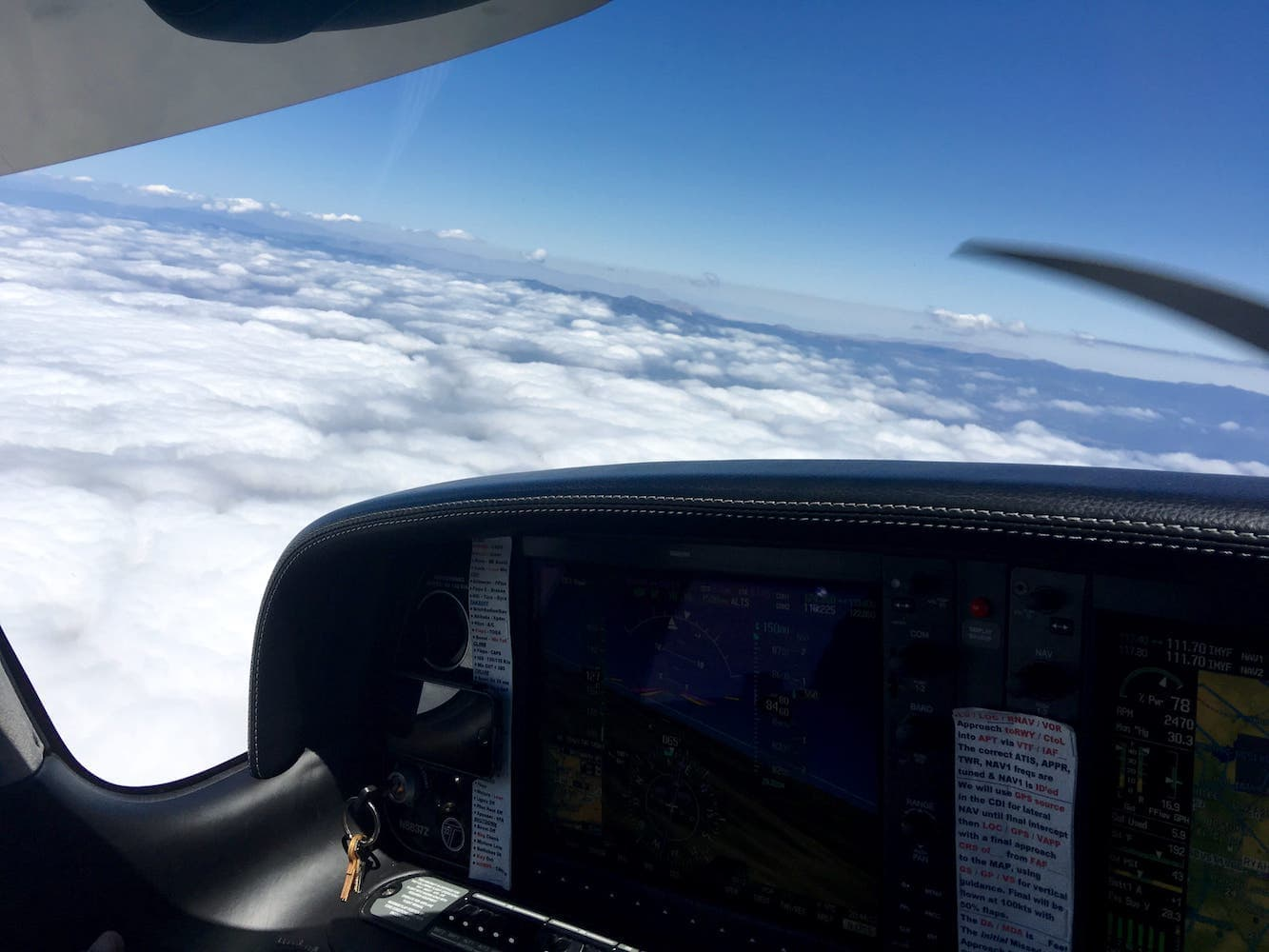 B4 – Well above the clouds