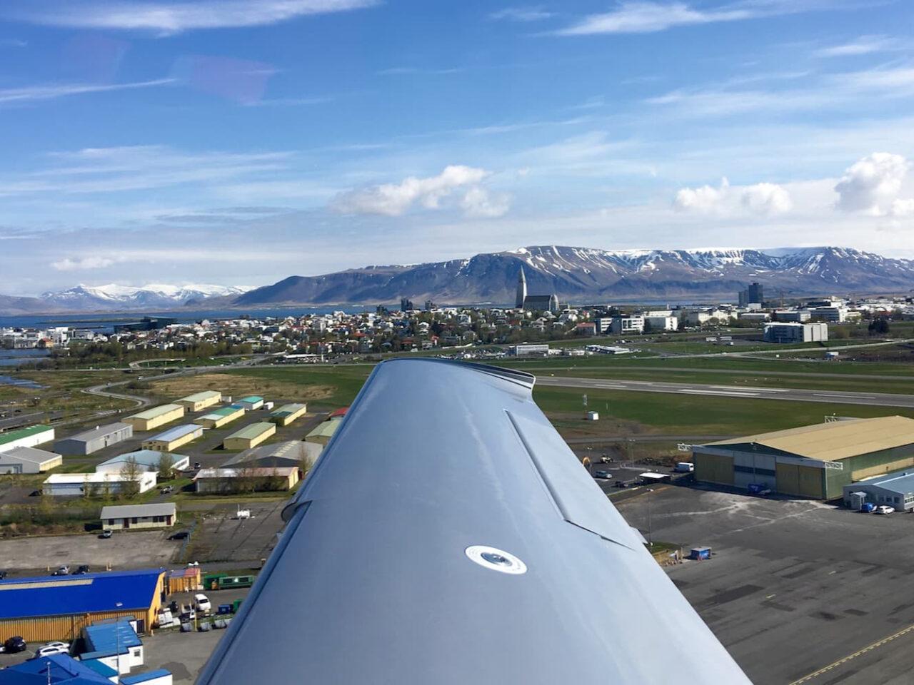 A – Reykjavik Departure