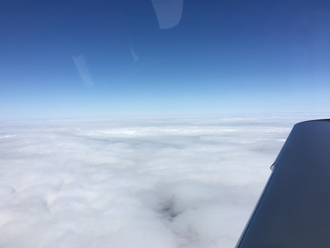C – 11,000 clear with 30 knot headwinds