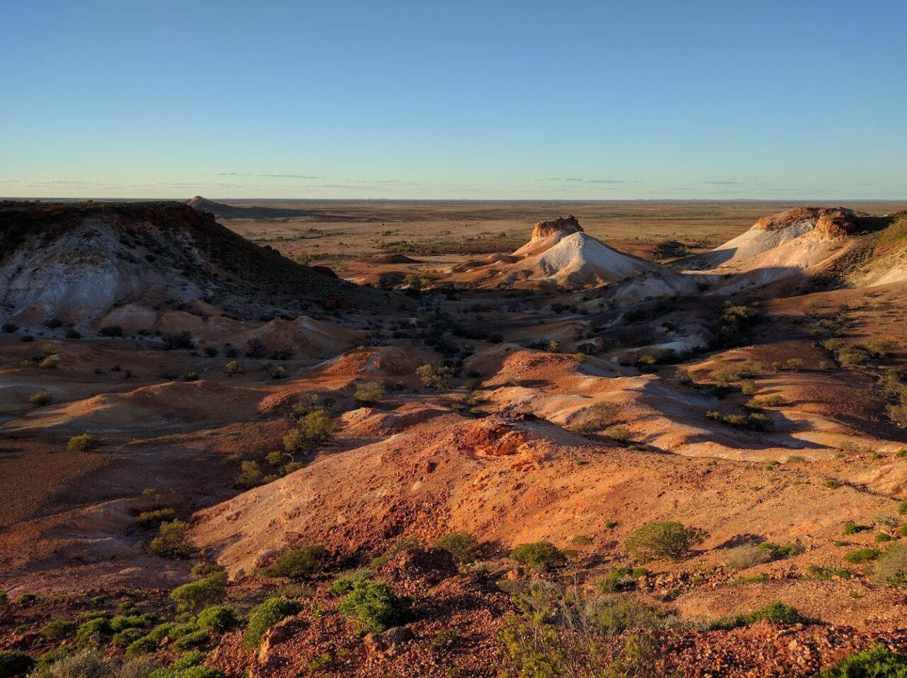 Breakaways hills – site of Mad Max, Pitch Black, etc