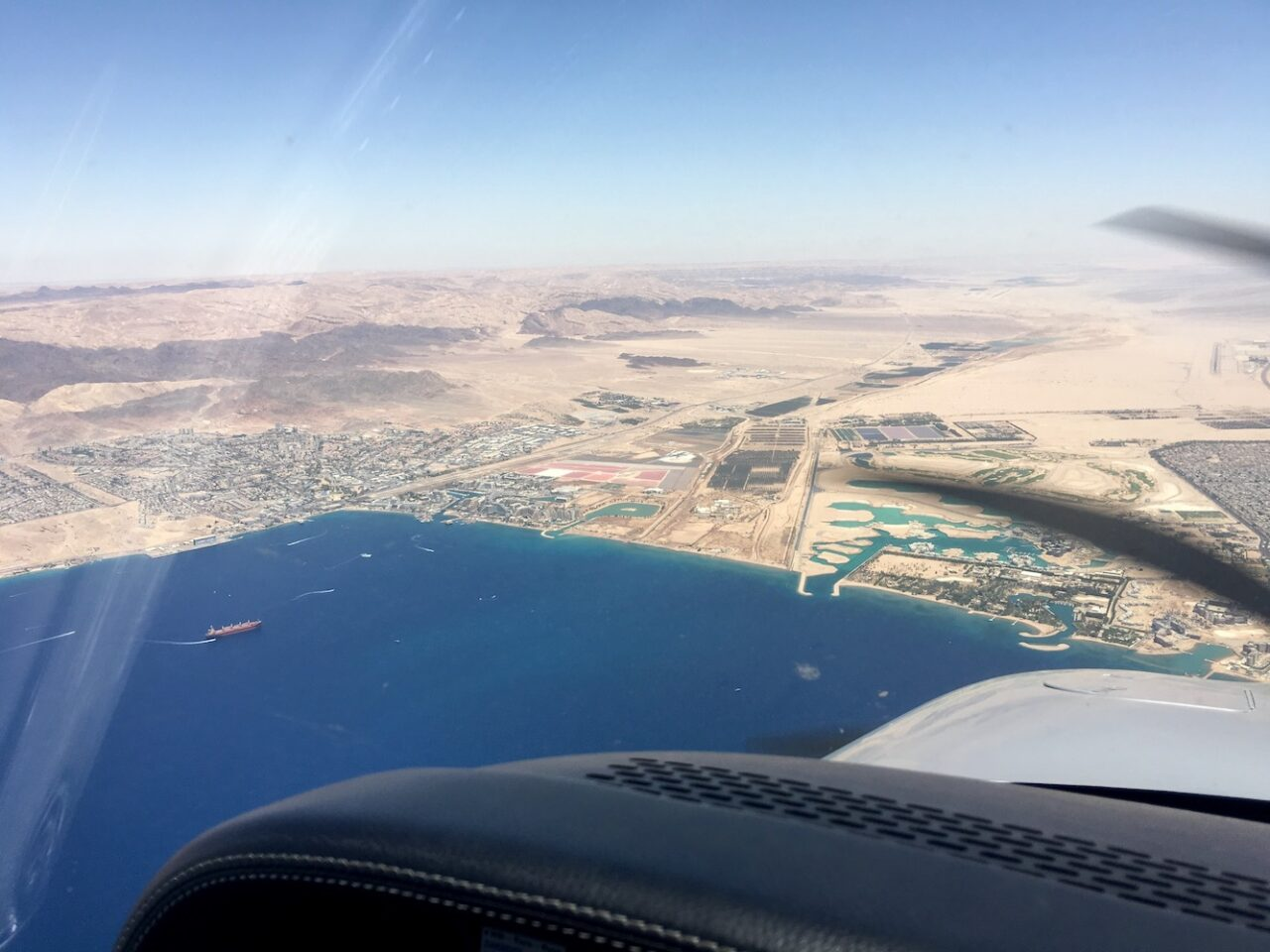Jordan – Isreal – Egypt – Saudi – All together at the tip of the Red Sea
