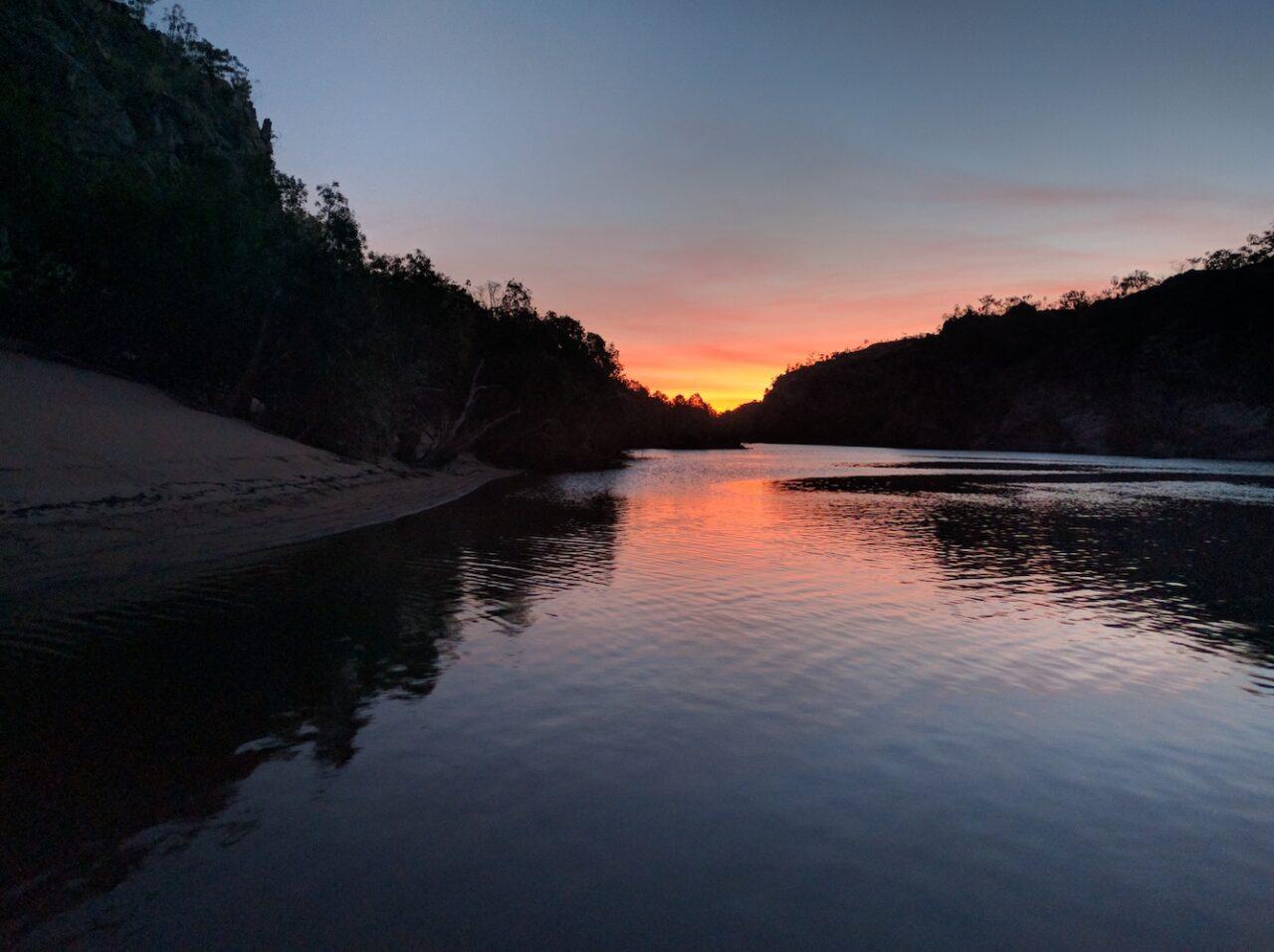 Katherine Gorge Sunset