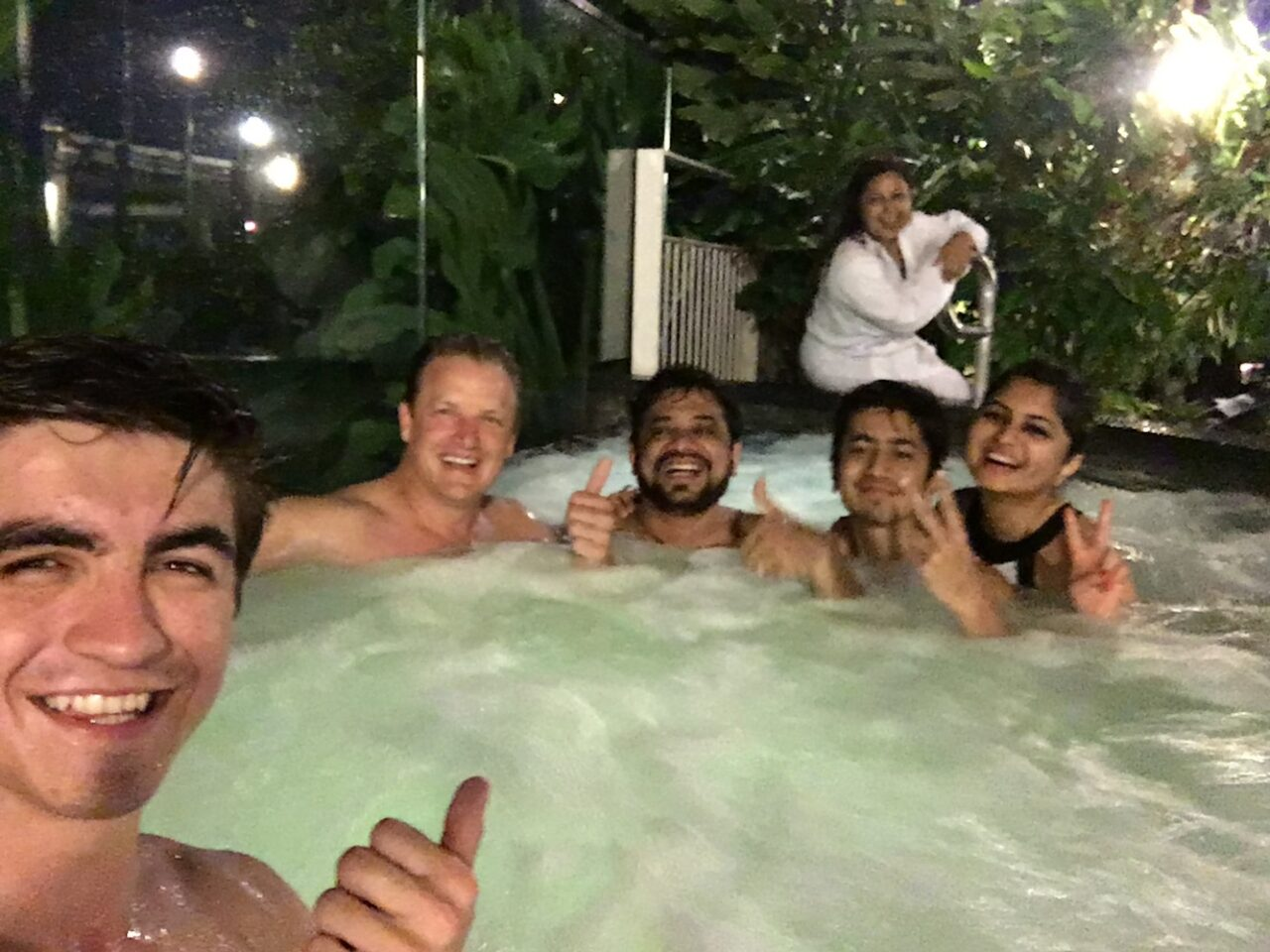 Making friends wherever we swim – Parish family from Mumbai
