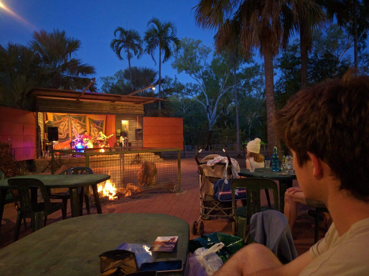 Mataranka Thermal Pools night band