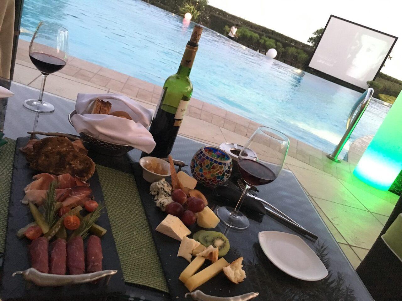 Poolside Snack – Bahrain Style