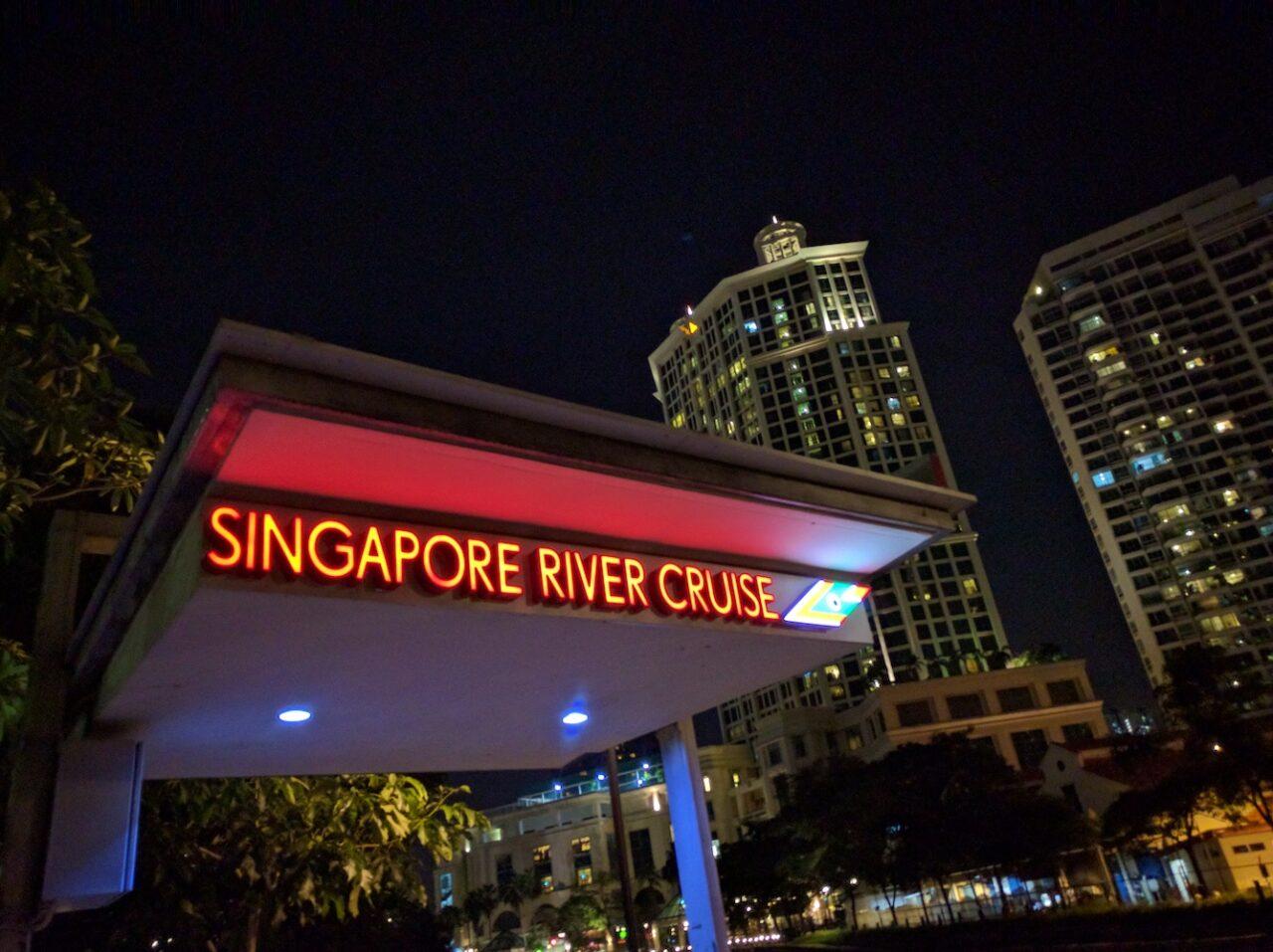 Robinsons Quay river walk Singapore