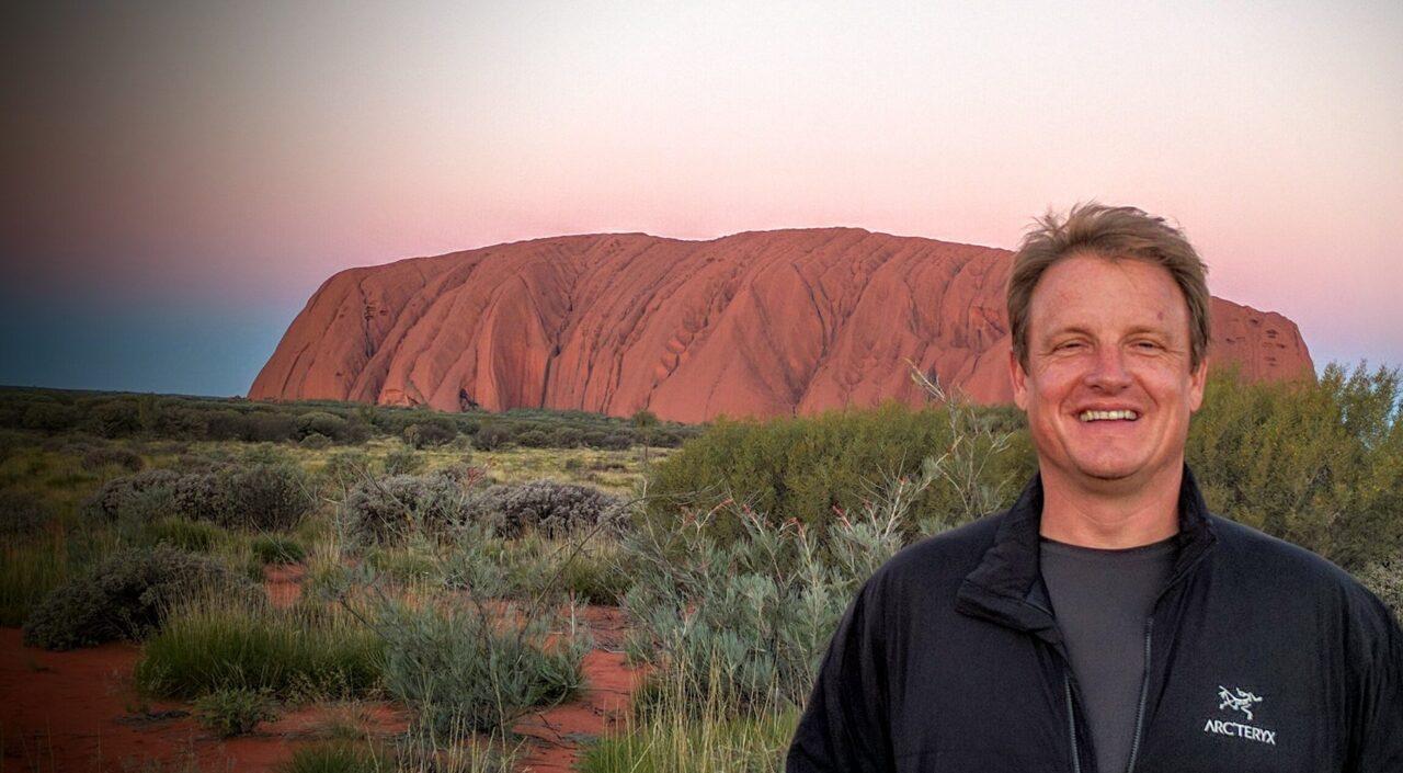 Sunset at Ayers (Uluru)