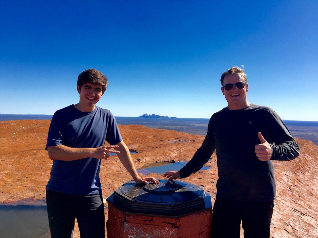 Top of Uluru