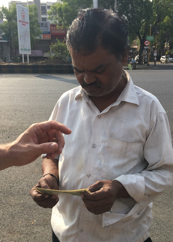 What – No Rupees – Get out of my Rickshaw