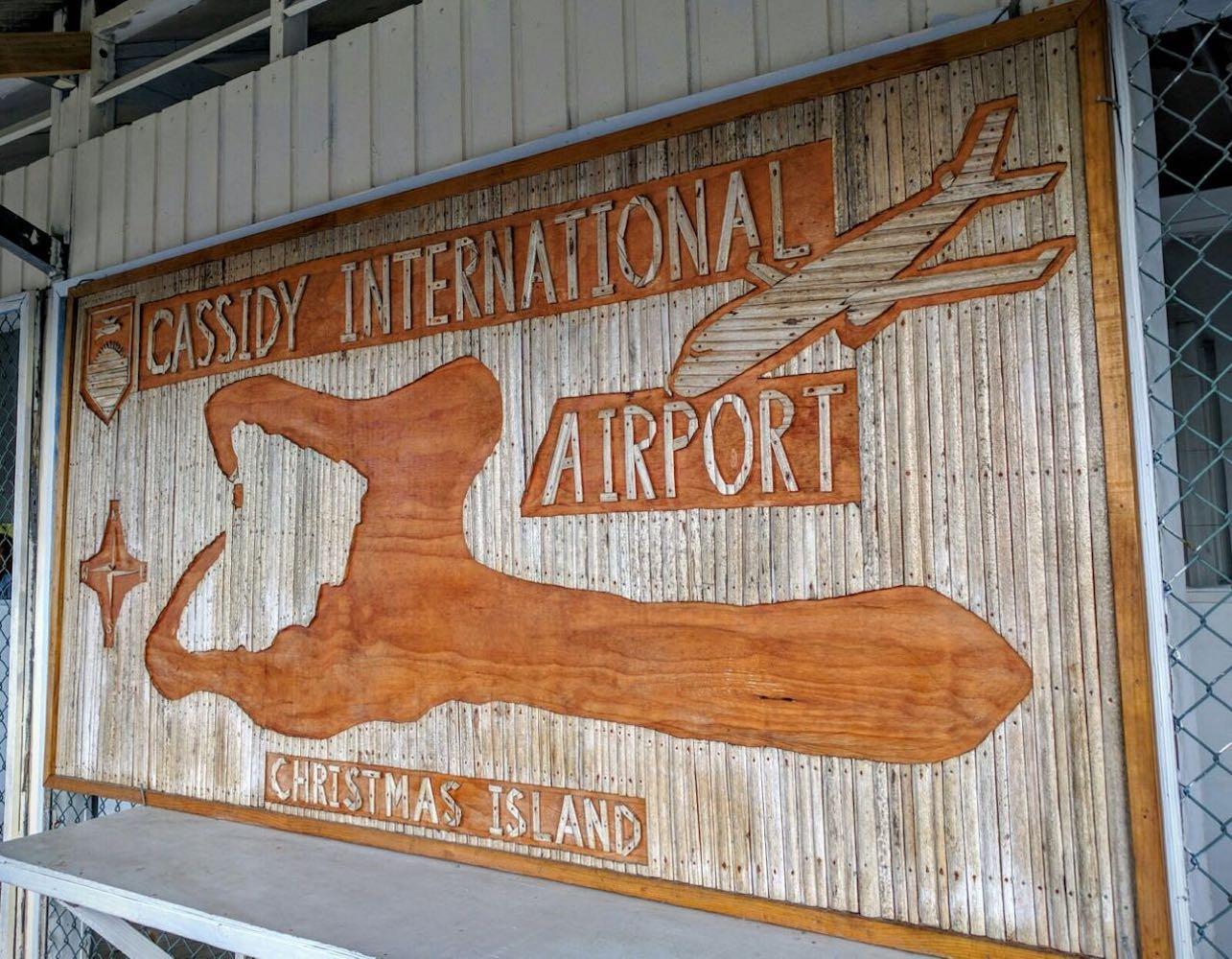 A – Arrival Cassidy Internationl – Christmas Island – Kiribati