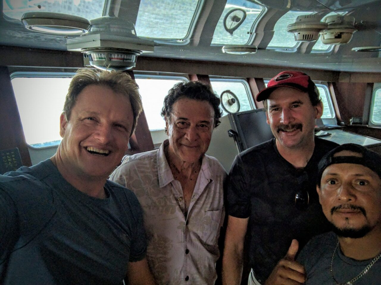 F – Fellow San Diegan – Captain gives me permission to board