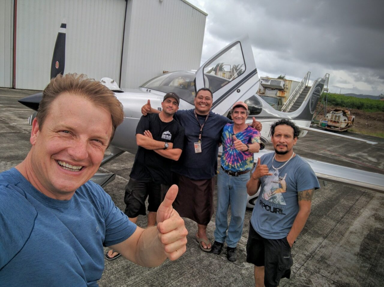 F – This crew rocks – they keep pilots alive on the high seas