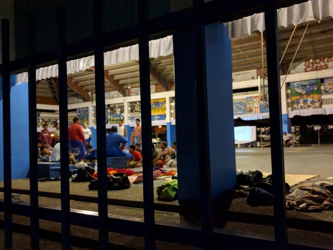 G – Samoan boys prepping for football season by having a team spirit meeting sleepover – NFL is their ticket off the island