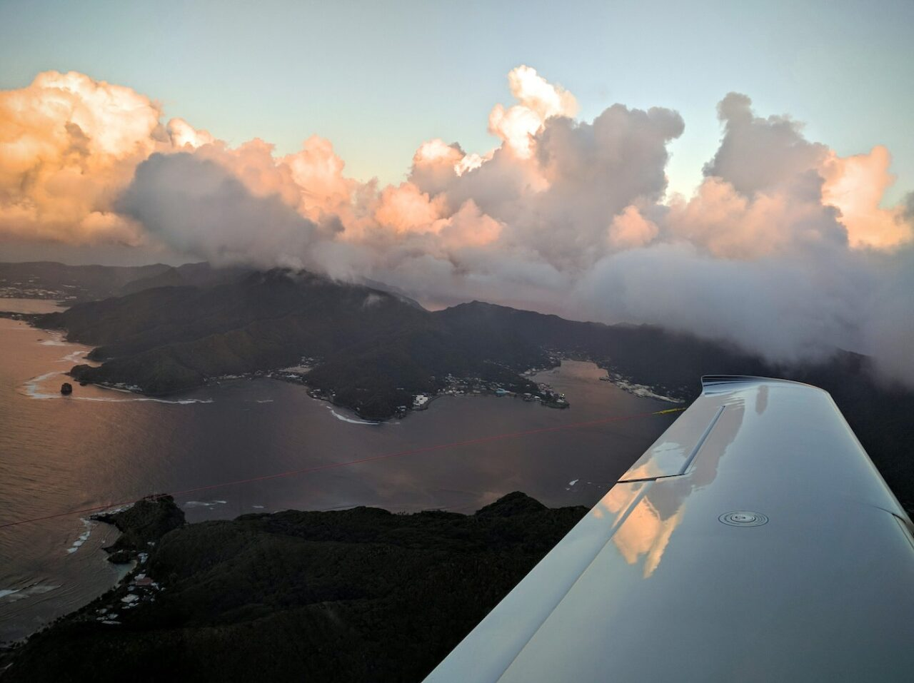 The Pago Pago Harbor – departure