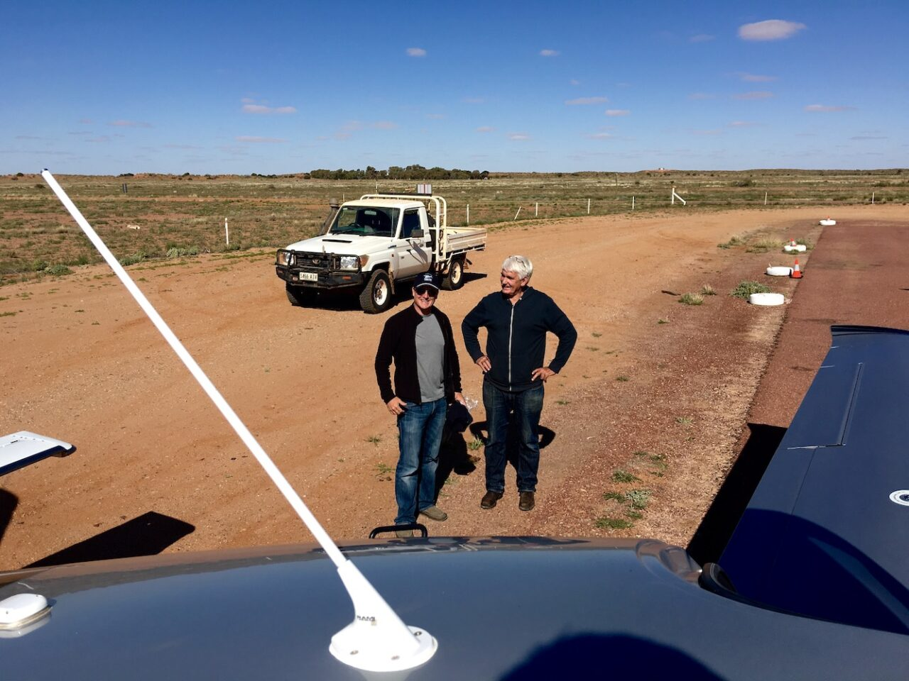 U gotta go visit Trevor_s town at William Creek – it_s just fun – outback style