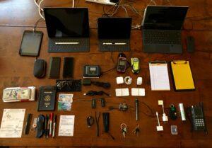 2 - Electronics and Flight Bag