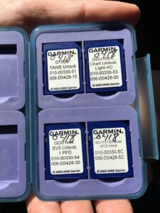 Did you know you have extra Garmin Cards in your Cirrus baggage area_